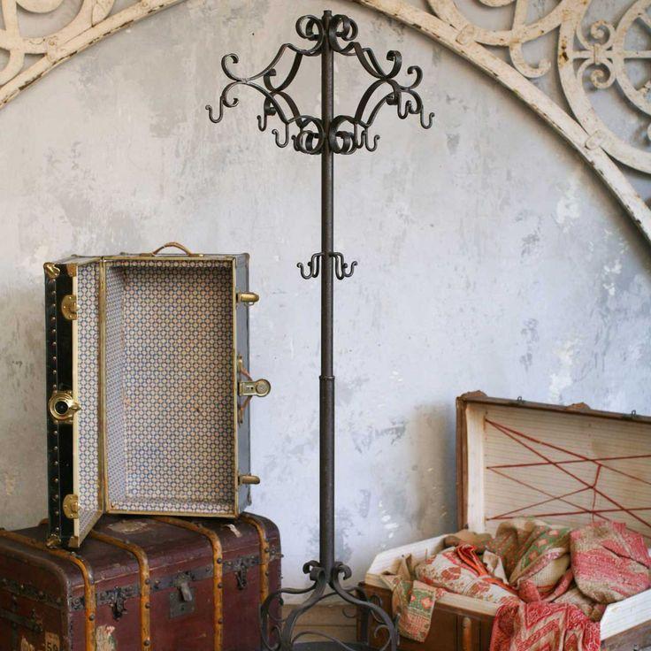 mirror en coat with oak max rack dutch wooden wall wood coatrack antique