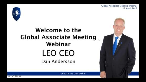 Recording of LEO Global Associate Meeting 17 April 2017 - Dan started by introducing our latest senior appointment; Waqas Suhail has joined as General Manager for the Dubai Region, and will be based out of the Dubai office. He followed with news on LEOcoin, information on events, incentives, and an update on the LEO Smart 3.0 app. #eLearning #digitalcurrency #crowdfunding #prosperwithLEO