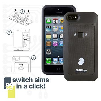 Dual Sim Case for iPhone 5
