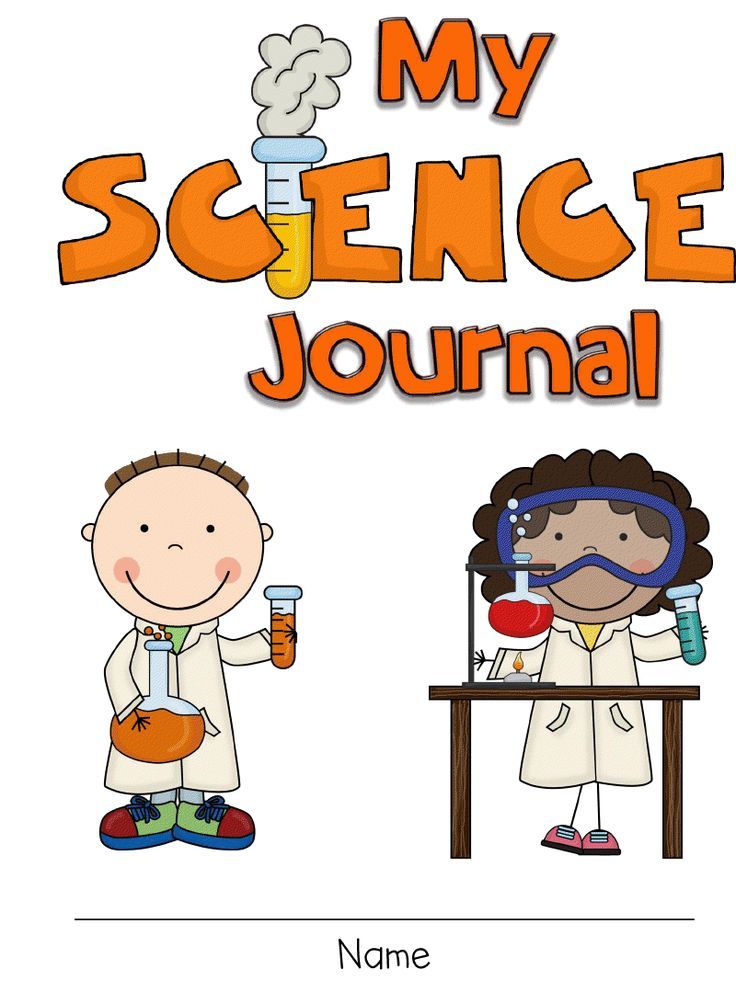 Home science project cover page design