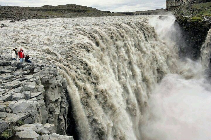 Dettifoss Waterval, IJsland