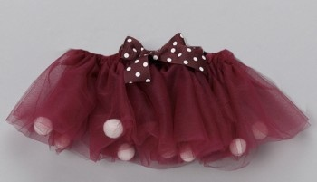 Maroon & white tutu - this is so cute, need to find an Aggie baby to get this for!
