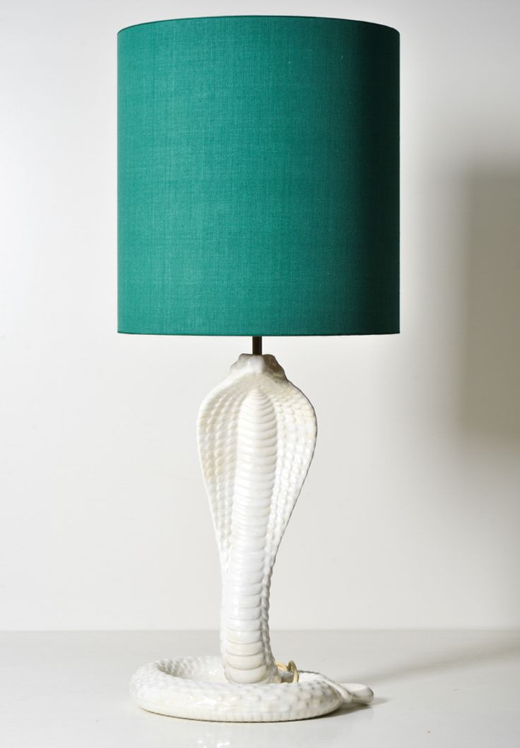 Cobra Table Lamp by Tommaso Barbi // Italy // 1970s - Wall - Greedfineart.com