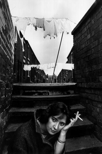Shelagh Delaney on August 7, 1961 in Manchester by Arnold Newman