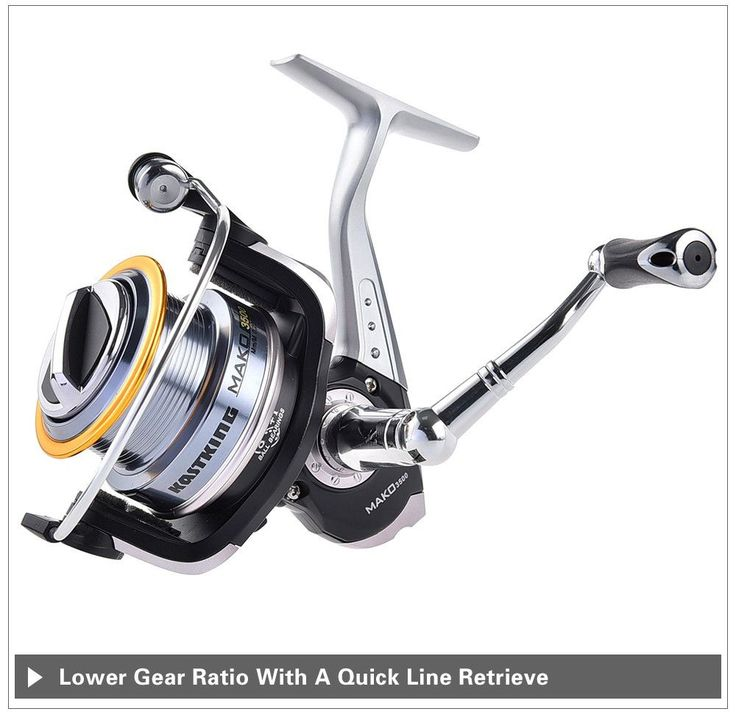 New 2016 MAKO 3500 Super Large Spool Spinning Fishing Reel