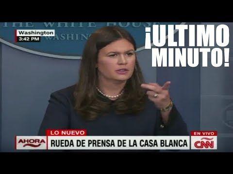 Ultimo minuto EEUU, LA CASA BLANCA HACE NUEVOS ANUNCIOS, SIGUIENTES PASOS 01/09/2017 - YouTube