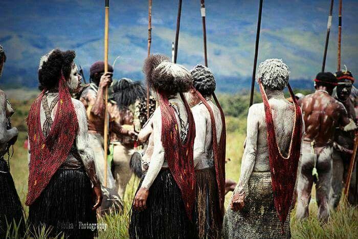Papuan Culture of Noken Woman  #Dani