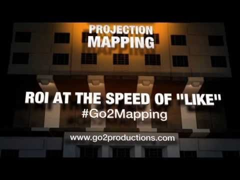 BCAMA Experiential Marketing Event - 3D Projection Mapping - Vancouver by Go2 Productions.