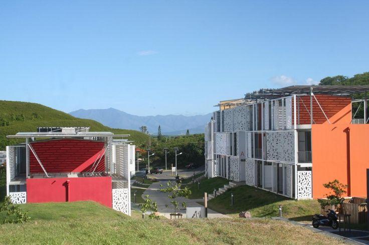 Résidence universitaire de Nouville Calédonie, Nouméa, Gaëlle Henry - Realisation