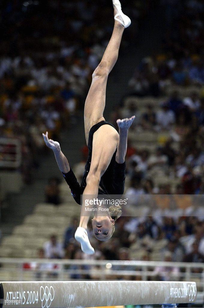 Olympische Spiele Athen 2004, Athen; Mehrkampf / Schwebebalken / Einzel / Frauen; Finale; Svetlana KHORKINA / RUS / Silber 19.08.04.