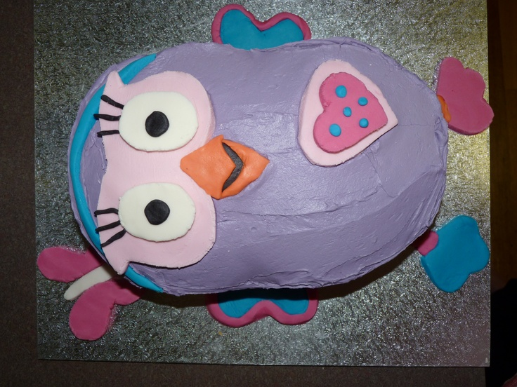Our Hootabelle Cake we made for Miss I's First Birthday x