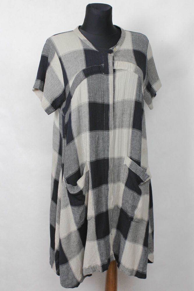 eb7b7547e7f3 THE MASAI COMPANY TUNIKA TUNIC DRESS KLEID KLÄNNING KJOLE ROBE ABITO GR L
