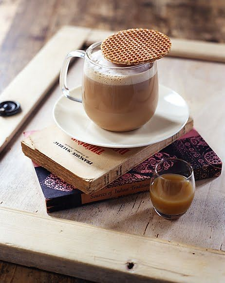 if that's a stroopwafel, I'm drooling.