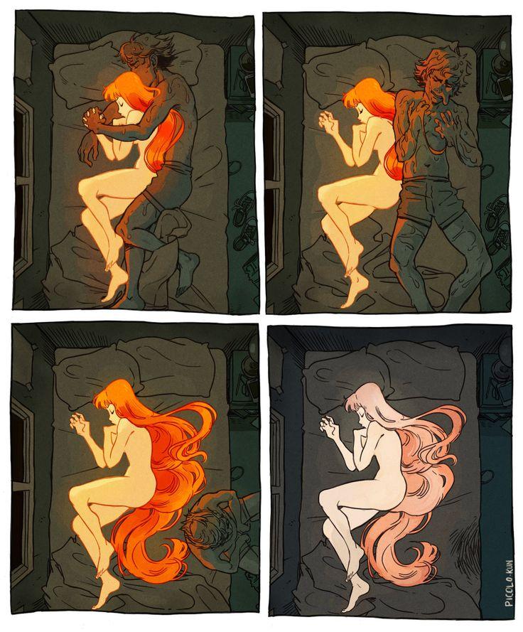 Icarus & The Sun -- Distance by Picolo-kun