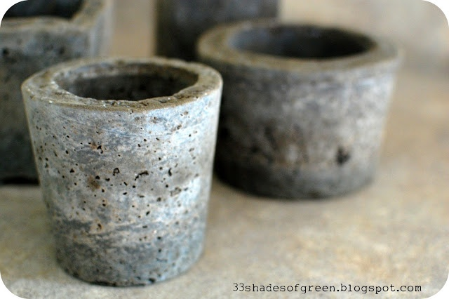 Making Hypertufa Pots, this might have to be something we do in the garden center. Make & Take!!!