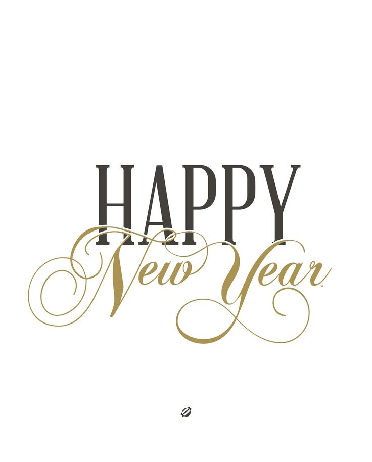 LostBumblebee ©2014 Happy New Year Free Printable Personal Use Only