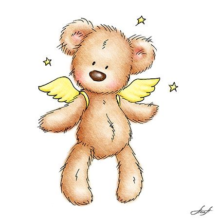 Oso angelito