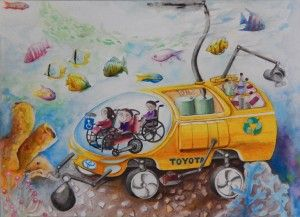 Toyota Financial Services (TFS) announces its 5th year of hosting the worldwide Toyota Dream Car Art Contest in the United States, which is designed to inspire creativity in youth and encourage an …