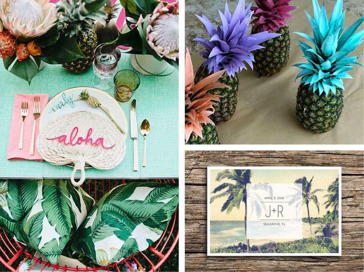 17 meilleures id es propos de d corations de f te tropicale sur pinterest f te tropicale. Black Bedroom Furniture Sets. Home Design Ideas
