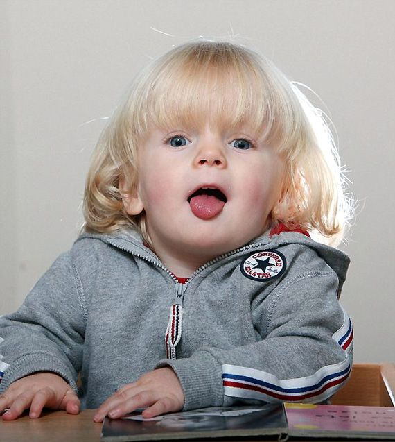 Baby with rare genetic disorder may one day eat himself up ...