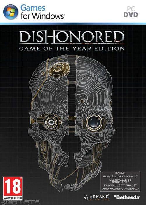 Dishonored GOTY Edition Steam CD Key