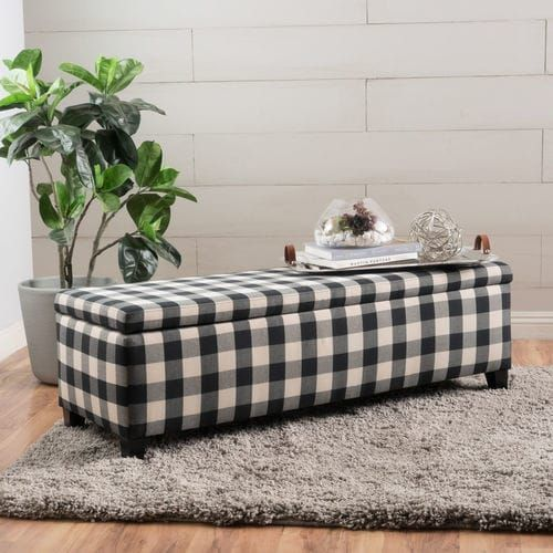 This storage ottoman is a great addition for any home. Not only can it double as extra seating, but it allows you to store items that you don't always need, but still want access to. Perfect as the home for all of your board games, or you can put your extra throw blankets and pillows in this ottoman. Easy to grab, but still out of the way.