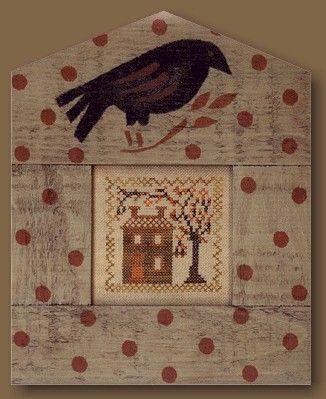 Blackbird Designs Spring's Notice free chart
