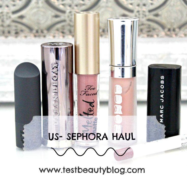 #beauty #sephora #testbeautyblog #haul #germany #usa #makeup