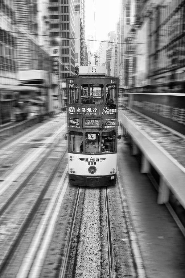 HK tram by Alice Chan on 500px