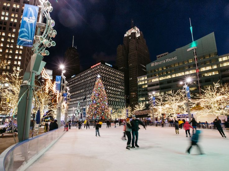From exploring Campus Martius to checking out the wildlife at the Detroit Zoo, here are 16 places to take the kids this winter.