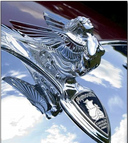 Hood Ornament - Plymouth..Re-pin...Brought to you by #HouseofInsurance for #CarInsurance #EugeneOregon