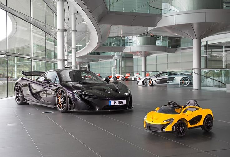 McLaren already offers an electric car – this is it, and it only costs £375...