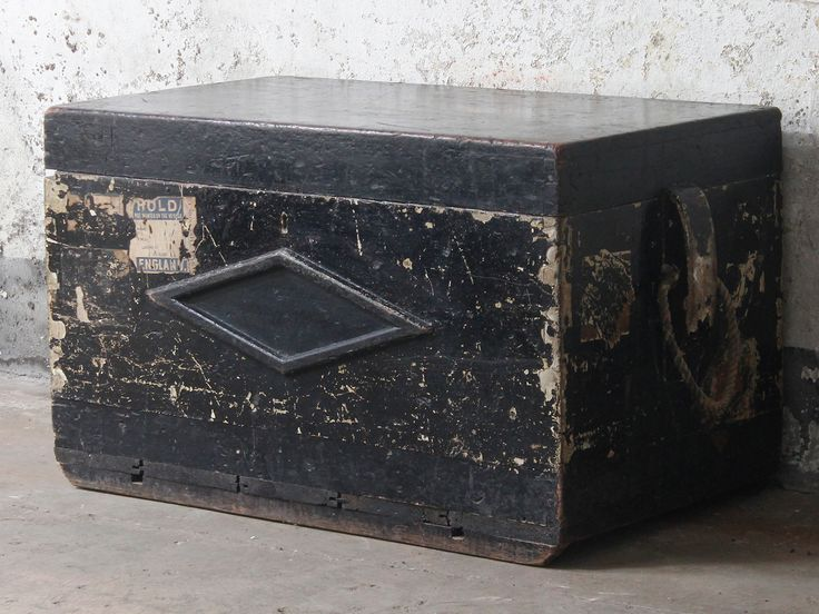 A Black Sea Chest would make an original  unique coffee table with storage