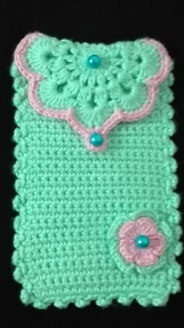Free Crochet Pattern Mobile Phone Case : Best 25+ Crochet phone cases ideas on Pinterest Crochet ...