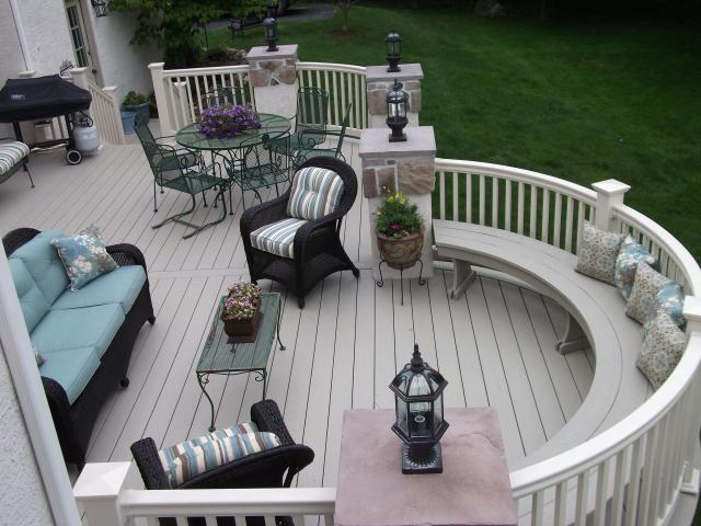 deck, azek decking, vinyl decking, vinyl deck railing,