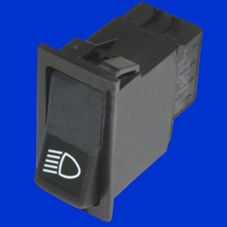 Wippschalter Kippschalter Schalter Beleuchtung Abblendlicht Standlicht Case IHC