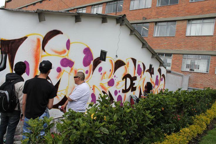 El grafiti se tomó nuestros escenarios, cultura urbana que se incluye en nuestras actividades universitarias