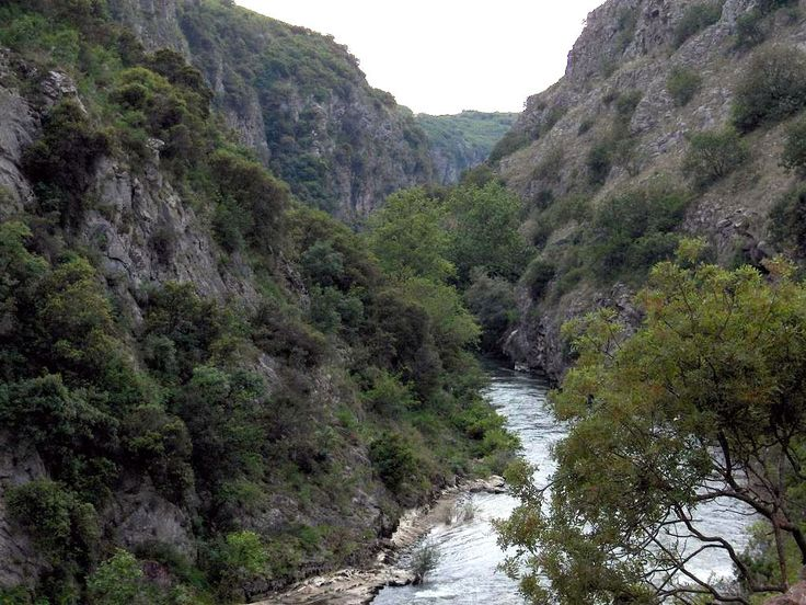 The Angitis is the most important and largest of the tributaries of the Strimonas River, which is approximately 75 km long. #Nea #Vrasna #Asprovalta
