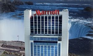 Groupon - Stay with Breakfast at Marriott Gateway on the Falls in Niagara Falls, ON in Niagara Falls, ON. Groupon deal price: $95