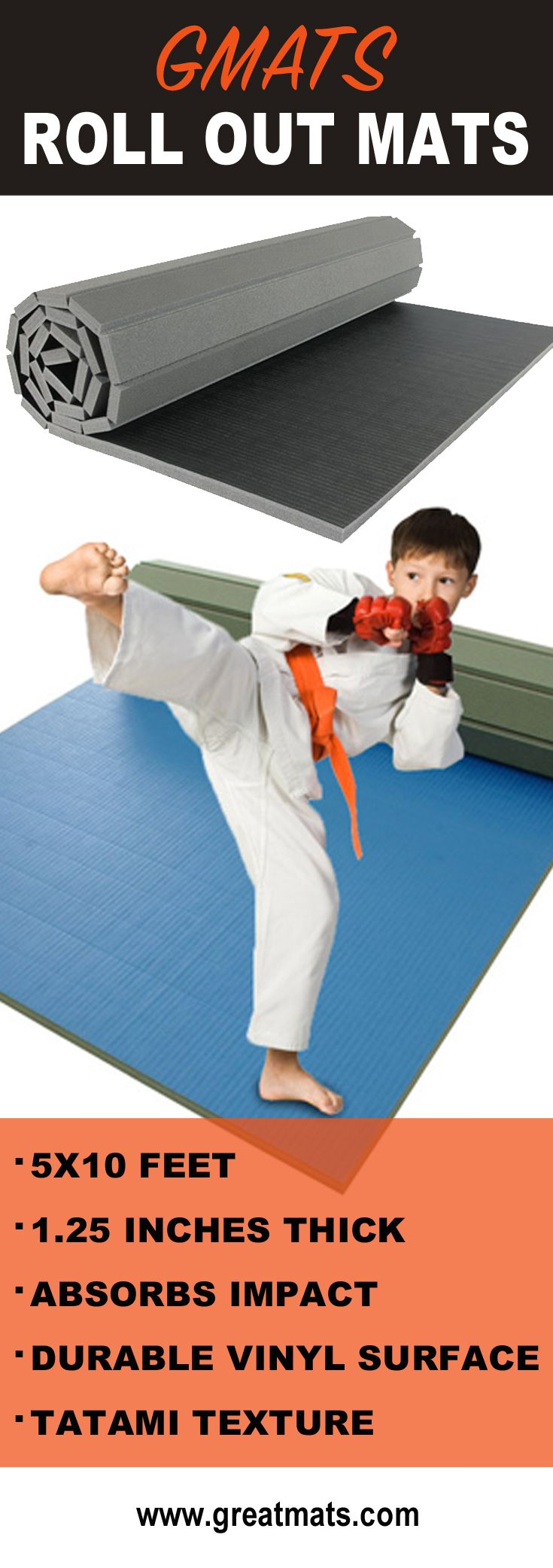 Mats roll out mats are some of the best home exercise gym floor mats available. These workout mats are great for wrestling, martial arts and general exercises.