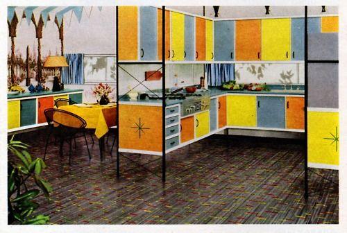 121 Best Atomic Retro Vintage Decor Images On Pinterest