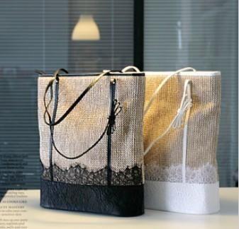 BB51 Women's Handbag Hand-woven Shoulder bag 2 colors