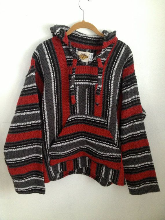 Quior Women s Striped Red / Black Sweaters , Casual Hoodie / Round