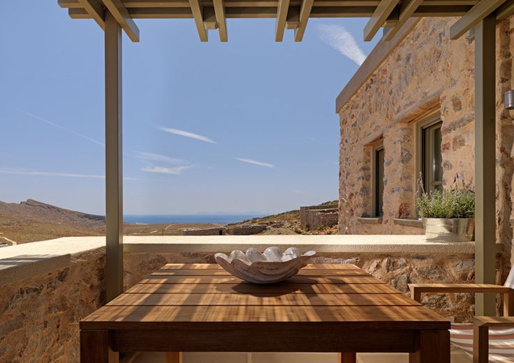 Spotted - Themonies Luxury Suites in Folegandros - From the Poolside