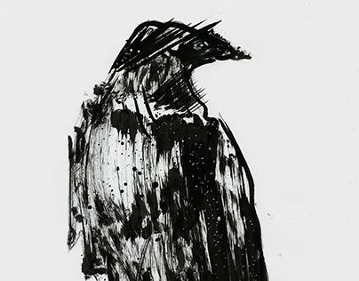 "Check out new work on my @Behance portfolio: ""Crow"" http://be.net/gallery/45324053/Crow"