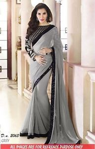 Indian Ethnic Designer Bollywood Traditional Bridal Party Wear Saree Sari Dress