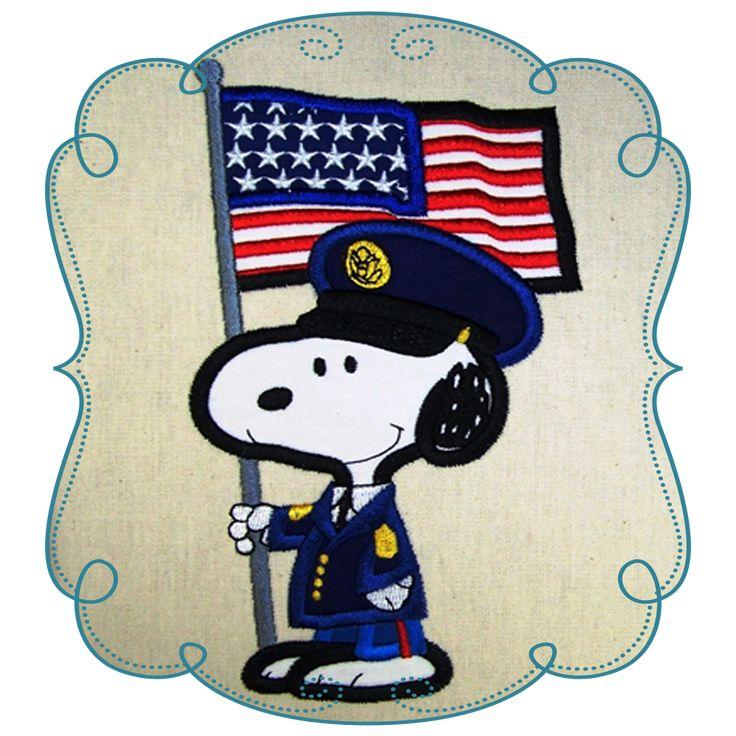 Snoopy Applique