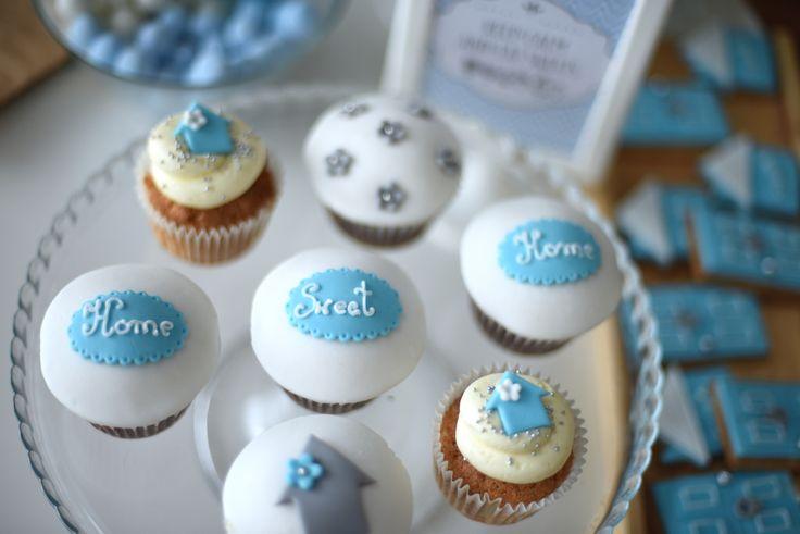 Housewarming cupcakes ideas