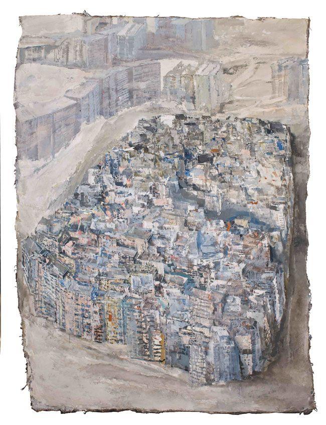 IlPost - Velasco Vitali, Kowloon, 2013. Olio su tela, 230 x 167 cm - Velasco Vitali, Kowloon, 2013.  Olio su tela, 230 x 167 cm