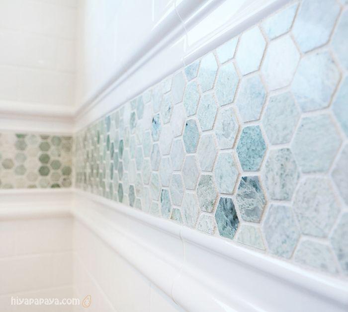Best Accent Tile Bathroom Ideas On Pinterest Small Tile